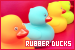 Toys: General: Rubber Ducks