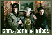 Supernatural: Singer, Bobby, Dean Winchester and Sam Winchester