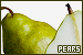 Fruits & Vegetables: Pears