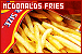 Restaurant Items: McDonalds: French Fries