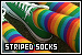 Clothing & Shoes: Socks: Striped