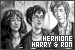 Relationships: Granger, Hermione, Harry Potter and Ron Weasley